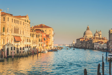 Greatest place of love and beauty of art on the ground in Venice