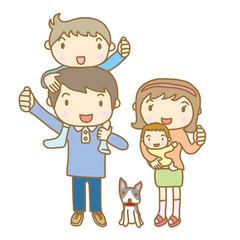 家族 ポートレート