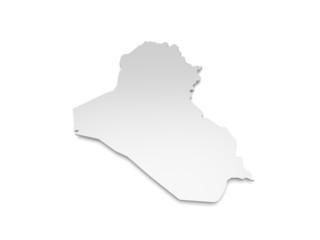 3D Karte Irak