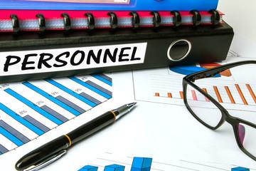 personnel on business folder