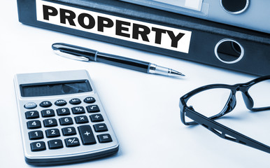 property on business folder