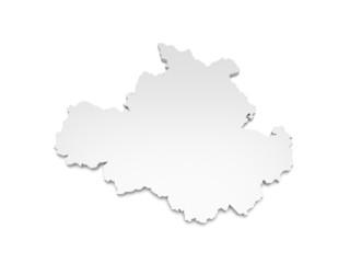 3D Karte Dresden