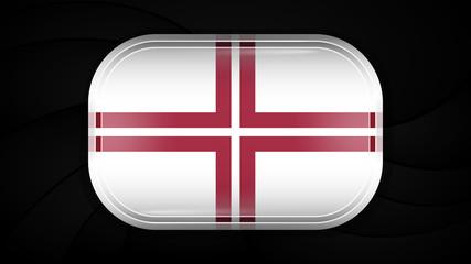 Latvia. Vector Flag Button Series