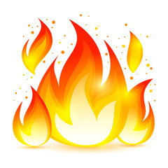 Fire Decorative Icon