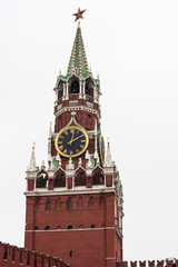 Historical buildings on Red Square