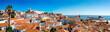 Leinwandbild Motiv Panorama of Lisbon