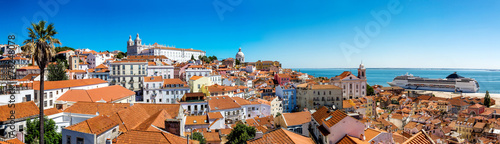 Papiers peints Pays d Europe Panorama of Lisbon