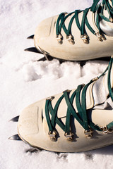 winter climb boots