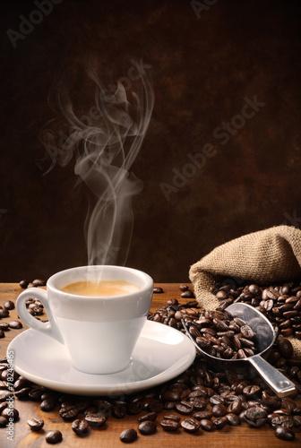 Tuinposter Koffie Coffee