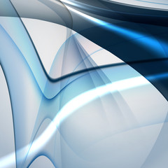 Bright blue abstract background, easy editable