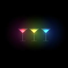 cocktail design menu background, easy all editable