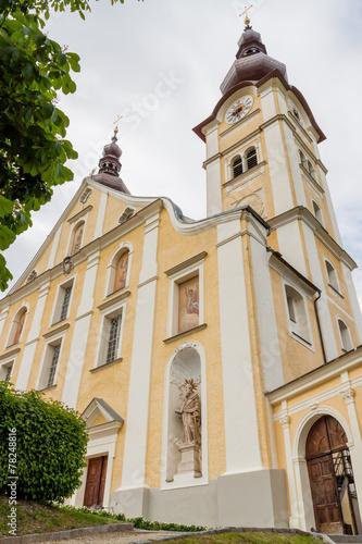 canvas print picture Wunderschöne Kirchen - Basilika  in Kärnten - Österreich..