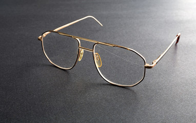 Old eyeglasses