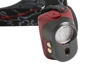 Head-mounted flashlights