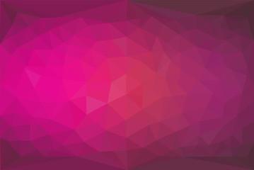 Polygon Hintergrund / Vektor