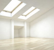 Empty Architectural Interior House Design