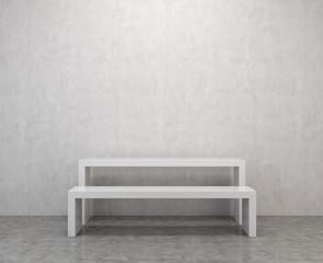 room with podium