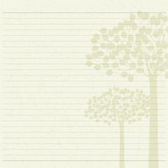 tree letter paper