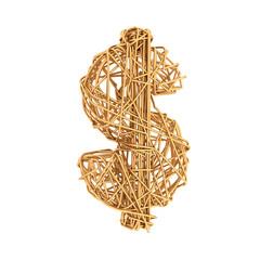 gold wire dollar