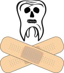 Tooth like skull