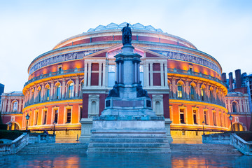 The Royal Albert Hall, Opera theater, in London, England, UK..