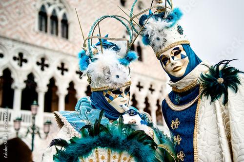 Leinwanddruck Bild Venezia
