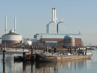 Kraftwerk in Hamburg