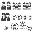 People Symbol Business Team Concept