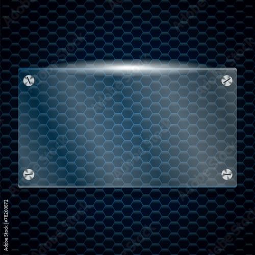 Panel szklany