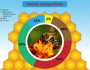 Honey composition