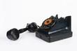 Leinwanddruck Bild - The Vintage rotary telephone