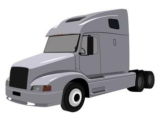 Gray truck