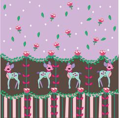 sweet dear pattern lolita