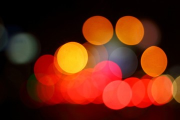 Bokeh light colorful background