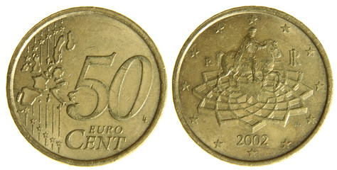 Fifty Euro Cents