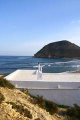 maison sur une plage en Andalousie