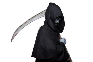 Grim reaper. Halloween. Death