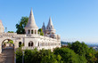 Fisherman Bastion on Buda Castle hill in Budapest, Hungary