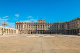 Royal Palace of Spain in Madrid