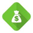 canvas print picture - money flat icon