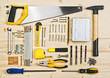 Assorted Woodwork and Carpentry or Construction Tools - 78265898