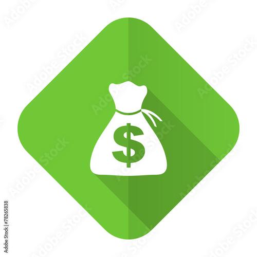 canvas print picture money flat icon