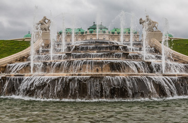 Belvedere Palace Fountain