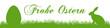 eb2 EasterBanner - nahtlos - Frohe Ostern - grün 4zu1 g3182