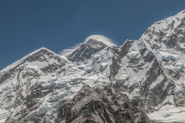 The Summit of Mount Everest in Nepal