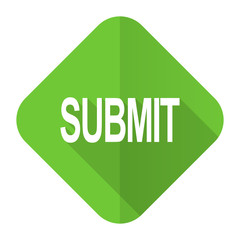 submit flat icon