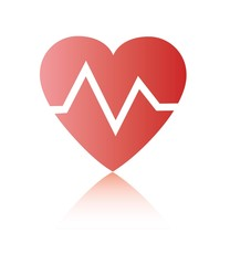 Значок вектор Здоровье для дизайна - сердце