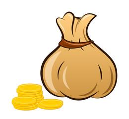 Мешок с монетами