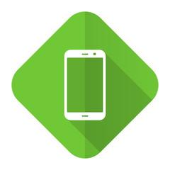 smartphone flat icon phone sign