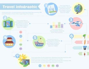 Мир Шаблон для путешествий Дизайн инфографики,  иллюстрации